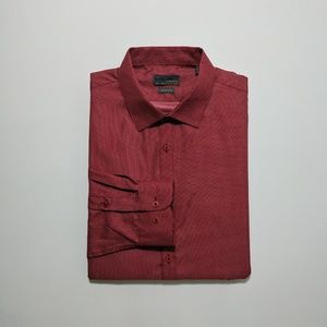 Black Label By Ruffini Men's Dress Shirt XL